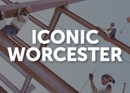 Iconic Worcester banner